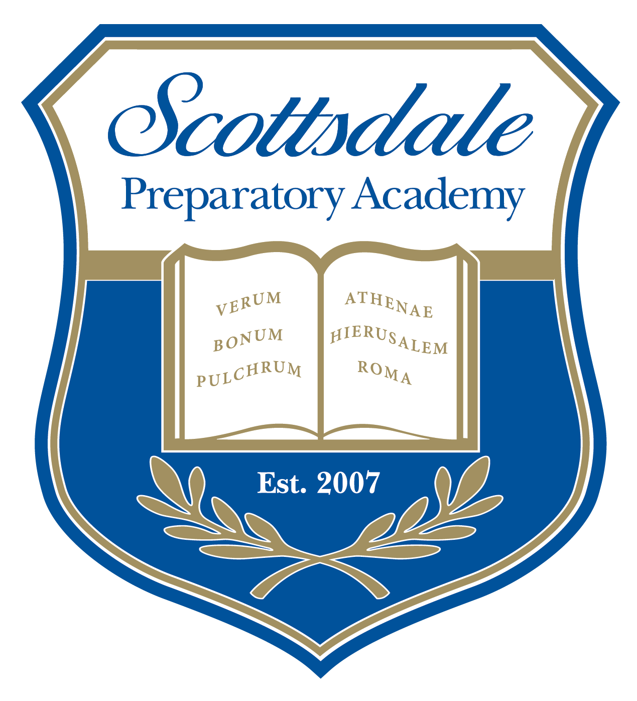 Great Hearts Scottsdale Prep, Serving Grades 6-12 School Crest